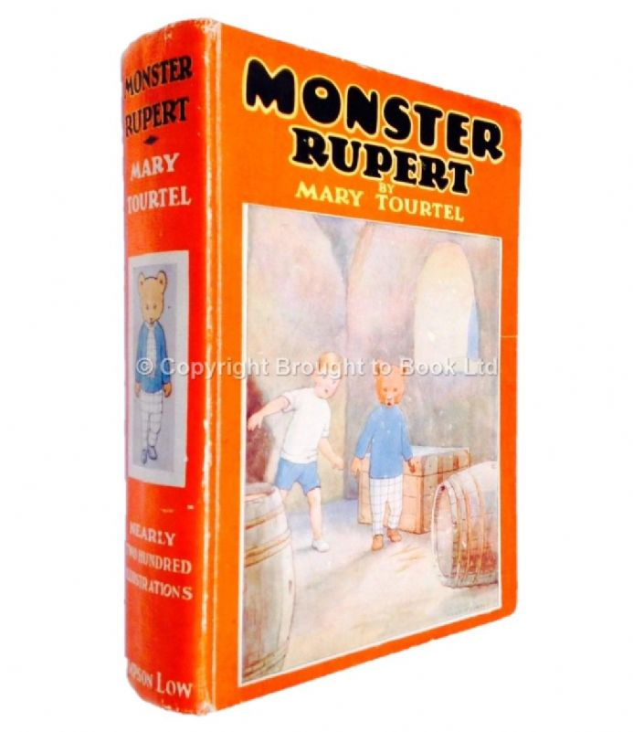 Monster Rupert Mary Tourtel Sampson Low 1934